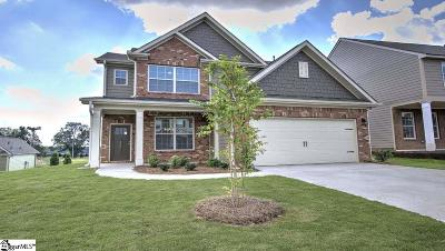 Simpsonville SC Single Family Home For Sale: $254,202