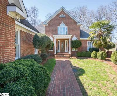 Greenville Single Family Home For Sale: 112 Hidden Hills