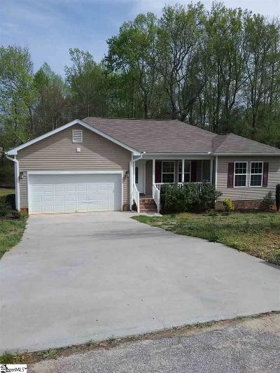 Greenville County Single Family Home For Sale: 117 Sandalwood