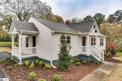 Greenville County Single Family Home For Sale: 119 Prosperity