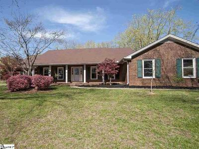 Greer SC Single Family Home For Sale: $269,000