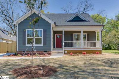 Greenville SC Single Family Home For Sale: $359,900
