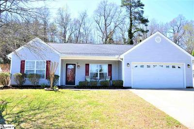 Taylors Single Family Home For Sale: 400 Crescentwood