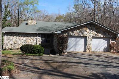 Piedmont Single Family Home For Sale: 685 N Flat Rock