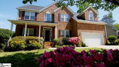 Greer Single Family Home For Sale: 3 Bentley