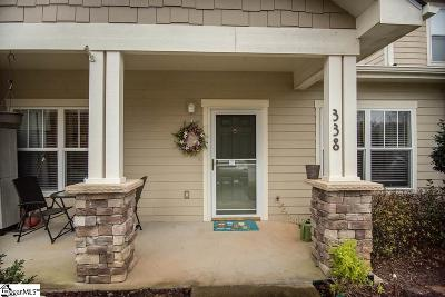 Taylors Condo/Townhouse For Sale: 338 Shallow