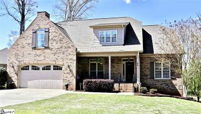 Taylors Single Family Home For Sale: 25 Double Crest