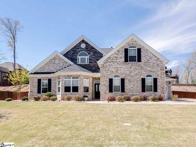 Simpsonville Single Family Home For Sale: 213 Dante