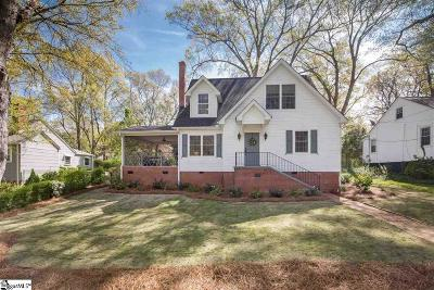 Greenville Single Family Home For Sale: 5 Biltmore
