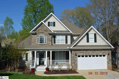 Simpsonville Single Family Home For Sale: 307 Kilgore Farms