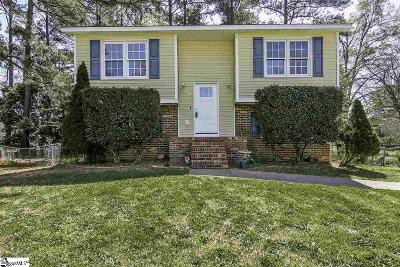 Simpsonville Single Family Home For Sale: 1 Tamwood