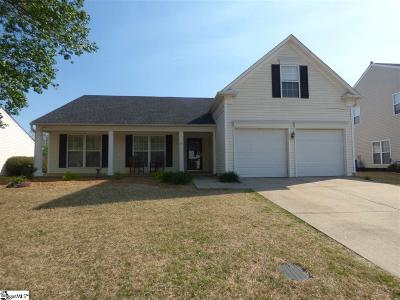 Greer Single Family Home Contingency Contract: 412 Woolridge