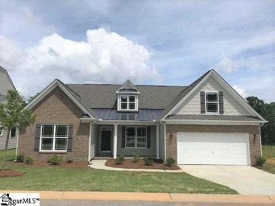 Simpsonville Single Family Home For Sale: 212 Hearthwood #lot 36