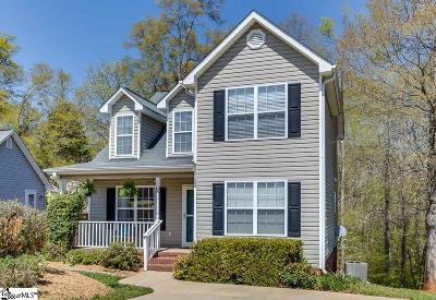 Boiling Springs Single Family Home Contingency Contract: 725 Cotton Branch