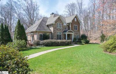Greenville Single Family Home For Sale: 100 Spring Valley