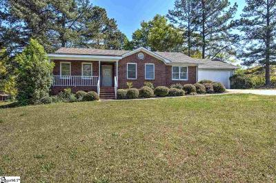 Simpsonville Single Family Home Contingency Contract: 1688 Bethel