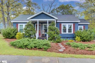 Fountain Inn Single Family Home Contingency Contract: 108 Babb