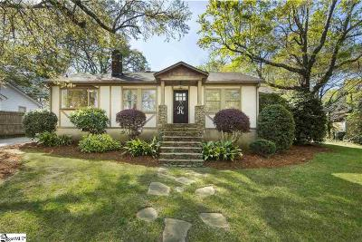 Greenville Single Family Home For Sale: 304 Stewart