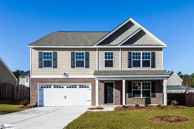 Simpsonville Single Family Home For Sale: 1 Fowler Oaks #Lot 74
