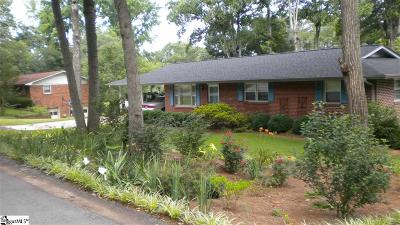 Greenville County Single Family Home For Sale: 119 Delta