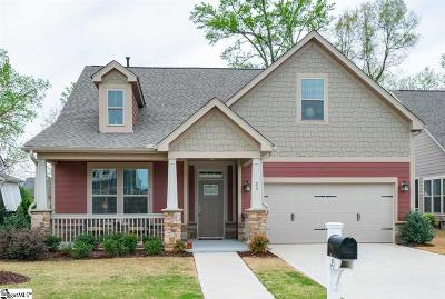 Simpsonville Single Family Home For Sale: 23 Lucerne