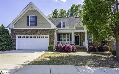 Greer Single Family Home For Sale: 205 Aldgate