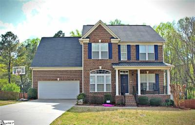 Easley Single Family Home For Sale: 107 Culpepper