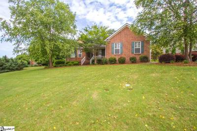 Greenville Single Family Home For Sale: 3 Couples