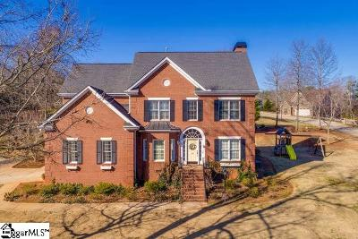 Easley Single Family Home For Sale: 100 Gemstone