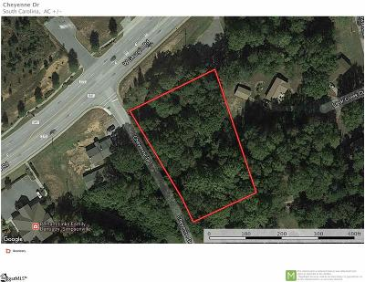 Simpsonville Residential Lots & Land For Sale: Cheyenne