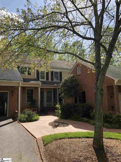 Greenville Condo/Townhouse For Sale: 1211 Shadow