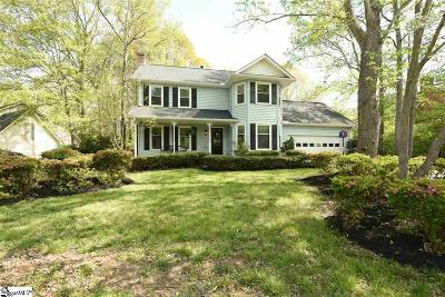 Simpsonville Single Family Home Contingency Contract: 502 Foxhound