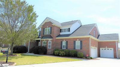 Greenville Single Family Home For Sale: 19 Pond Bluff