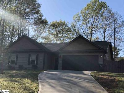 Greenville County Single Family Home For Sale: 1 River Watch