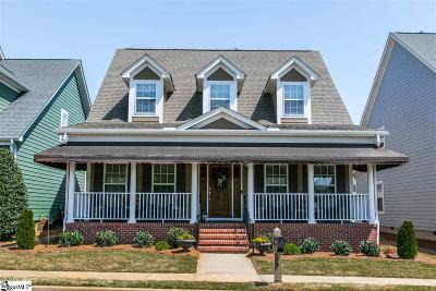 Simpsonville Single Family Home For Sale: 123 Farm Mill