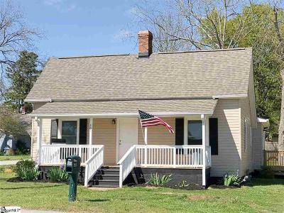 Easley Single Family Home Contingency Contract: 301 Hagood