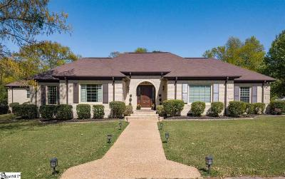 Greenville Single Family Home For Sale: 8 Hawkins