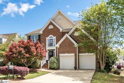 Simpsonville Single Family Home Contingency Contract: 19 Lake Valley