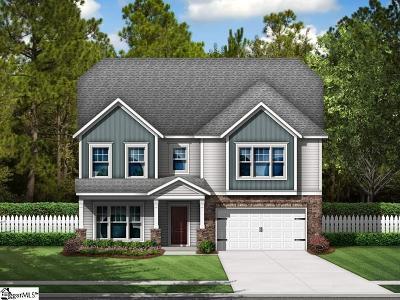 Greer Single Family Home For Sale: 266 Braselton #Lot 6