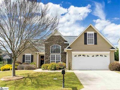 Simpsonville Single Family Home For Sale: 101 Wateree