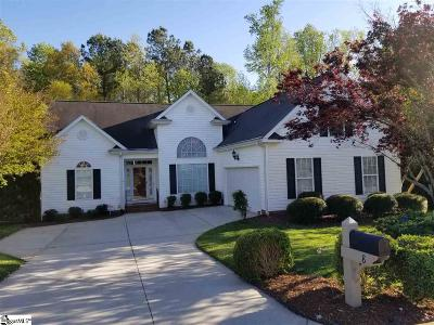 Simpsonville Single Family Home For Sale: 8 Dapple Gray