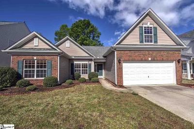 Simpsonville Single Family Home For Sale: 109 Shea