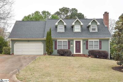 Greenville Single Family Home For Sale: 705 Pineapple