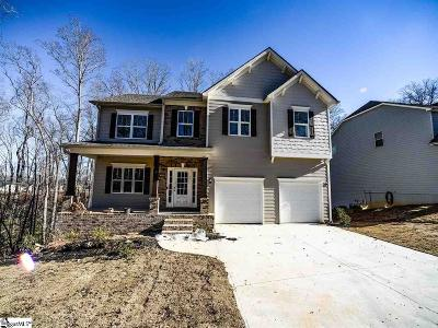 Simpsonville Single Family Home For Sale: 124 Sea Harbour