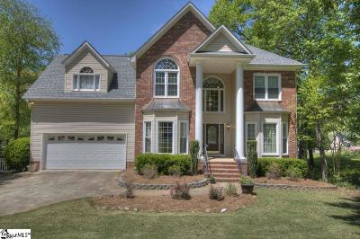 Simpsonville Single Family Home For Sale: 220 Holly Crest