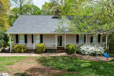 Spartanburg Single Family Home For Sale: 178 Woodcreek