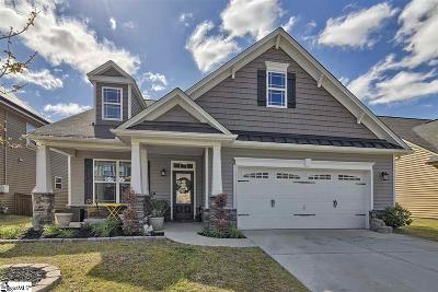 Simpsonville SC Single Family Home For Sale: $265,000