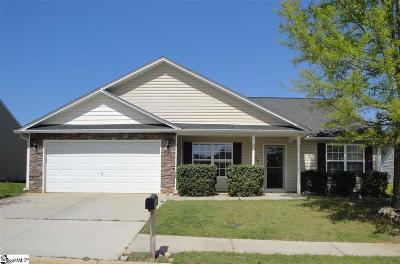 Simpsonville SC Single Family Home For Sale: $179,999