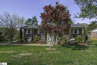 Simpsonville SC Single Family Home For Sale: $224,900