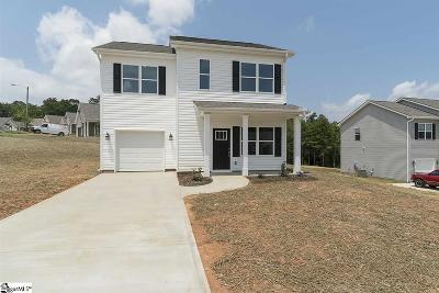 Greer SC Single Family Home For Sale: $164,500